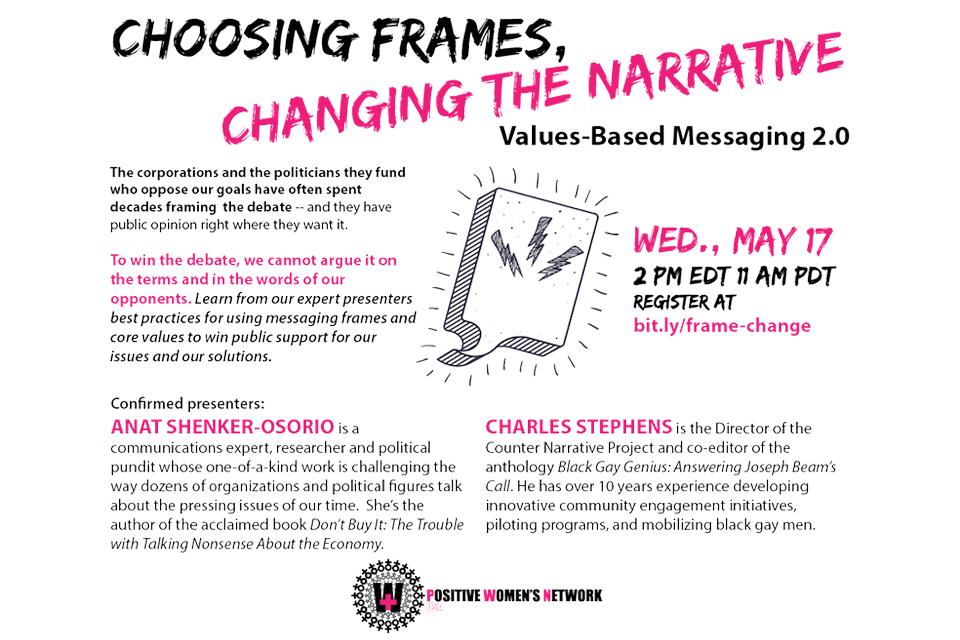 Webinar: Choosing Frames, Changing the Narrative - May 17, 2017 ...